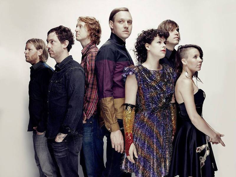 Arcade Fire group shot © IN Music Festival