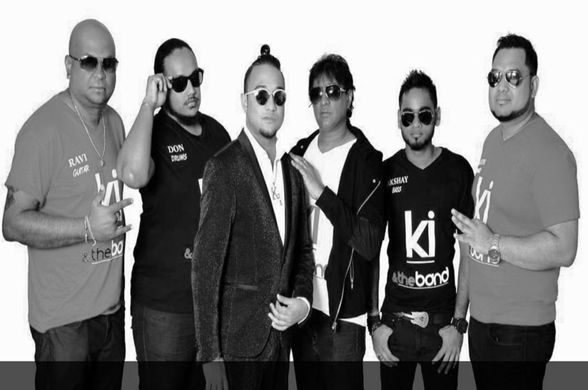 KI & The Band poses cooly, clad with sunglasses on © VIBE 105